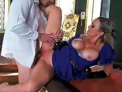 Pornstars Abbey Brooks and Johnny Sins are ready for a hardcore act