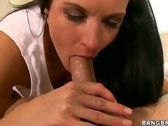Gorgeous milf India Summer learns that its youthful Seths birthday, and that babe gives him something to remember - an epic blowjob that makes him cum harder than ever in his life!
