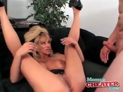 Milf fuck porn with a ejaculation on her sexy breasts