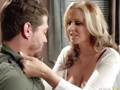 Julia Ann acquires pumped by her sons ally