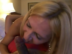 Big-Titted Mommy has Some cum onto Her cups After A Head