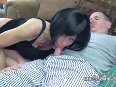 Brunette MILF Melissa Swallows is getting drilled hard