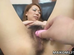 Hairy Pussy Japanese MILF Sex