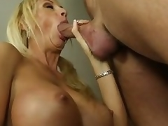 Buxom milf Brooke Tyler having sex with sexy chap